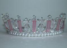 Pretty Pink Princess Tiara Crown