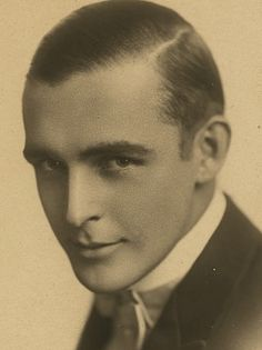 """Arguably, the handsomest actor of the Silent Screen--and dead at age 32 in one of Hollywood's first """"scandals""""--when he died in 1923 while in the throes of a hopeless addiction to Paramount Studios's own doctors' prescribed morphine:  WALLACE REID."""