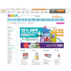 Tired of rushing to the store to buy toilet paper? Sign up for autoship on Soap.com and never run out of your favorite household products again