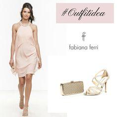 #Outfitidea... #Rosa il colore eletto da Pantone per l'anno 2016 che infonde serenità e richiama all'equilibrio, ma che ha la capacità di illuminare ogni #look ;-) #outfit #fashion #glamour #sopping #shoes #clutch #pink #color #moda