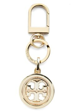Tory Burch Logo Key Chain available at #Nordstrom