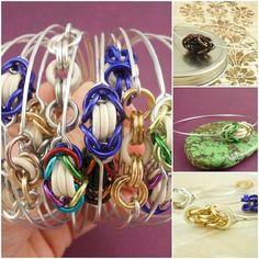 Kit - Bangle - 18 Bangle Kits - Fast, Colorful And Easy DIY Bracelets