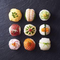 A+style. フードコーディネーターacoの作品撮り♡ 日本人でよかった♡ #毎日たべたいきれいごはん#手まり寿司 #手毬寿司 #japan #Sushi #japanese #フードコーディネーター Japanese Food Sushi, Japanese Dishes, Temari Sushi, Sushi Donuts, Sushi Buffet, Sushi Party, Filling Food, Food Gallery, Bento Recipes