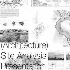 A look at how to present architectural site analysis, whether it be for a presentation, to your peers, a critique or to a client, being able to successfully communicate your site analysis and research is an important part of the process