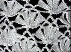 Crochet : Punto Fantasia # 6. Parte 2 de 2