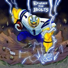Beware the Bolts - San Diego Chargers