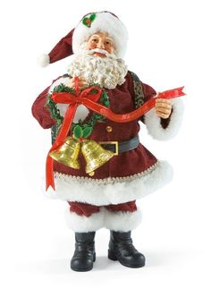 Christmas Together-Celebrate your first or your forty first Christmas Together with this special Possible Dreams Santa collectible. There are two bells and the ribbon reads Christmas Together.