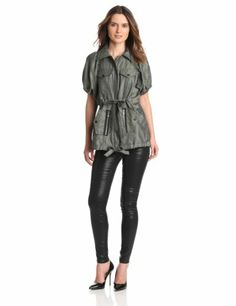 Anna Sui Women's Ribbed Jacquard Anorak « Impulse Clothes