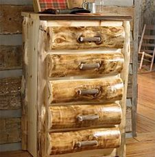 Rustic and Log Dressers