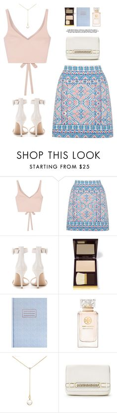 """""""..."""" by yexyka ❤ liked on Polyvore featuring Elizabeth and James, Gianvito Rossi, Tom Ford, Tory Burch, Renee Lewis and Diane Von Furstenberg"""