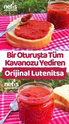 Lutenitsa – Kahvaltılıklar – The Most Practical and Easy Recipes Cooking Recipes, Healthy Recipes, Breakfast Items, Turkish Recipes, Food Facts, Fermented Foods, Food Presentation, Food Design, Food Preparation