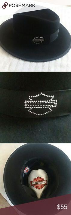 8ff4276594f4b Harley Davidson Hat Harley Davidson Hat black with silver Harley Davidson  logo great condition Harley-