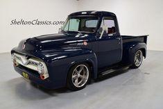 1955 Ford For Sale - Mooresville, North Carolina - Old Car Online Vintage Trucks, Old Trucks, Pickup Trucks, Custom Rat Rods, Custom Trucks, Ford Classic Cars, Classic Trucks, Pick Up, 1953 Ford F100