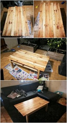 This table design for the purpose usage of the coffee is worth-mentioning to talk about! It is being manufactured with the complete durable use of the wood pallet designing artwork where little shading of rustic wood pallet use is the main attraction. You would love keeping it in your house for sure!