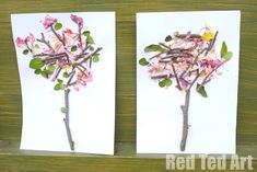 Four Seasons - Spring Nature Art - Pinned by @PediaStaff – Please Visit  ht.ly/63sNt for all our pediatric therapy pins