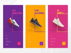Modern Shoe Store Modern Shoe Store by Akshay Bukka Graphic Design Brochure, Graphic Design Posters, Graphic Design Inspiration, Dm Poster, Shoe Poster, Shoe Advertising, Advertising Design, Website Design Layout, Layout Design
