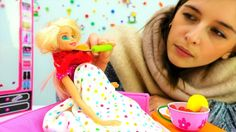Игры для девочек и видео про кукол: лечим Барби от простуды. #Игрушки #b...