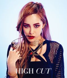 Unpretty Rapstar Heize for Hogh Cut Magazine KR '15