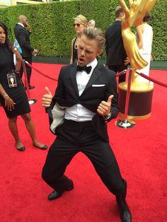 Derek hough at the Emmys