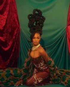 Beautiful Black Girl, Pretty Black Girls, Black Girl Art, Black Girl Magic, Black Art, Glam Photoshoot, Photoshoot Concept, Photoshoot Themes, Afro