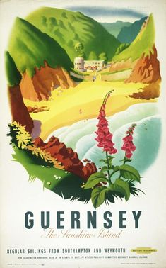 Guernsey, the sunshine island - British Railways - 1953 - (Alan Durman) -
