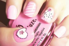 cream, hello kitty, they are my next #nails!