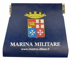 Portamonete Ecopelle - Marina Militare Italiana