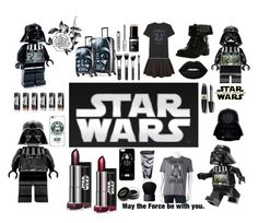 """Star Wars"" by kaitlyn-dees on Polyvore featuring Lego, American Tourister, Tervis, Max Factor, JEM, Refresh, Forever 21, Gucci, NARS Cosmetics and Bare Escentuals"