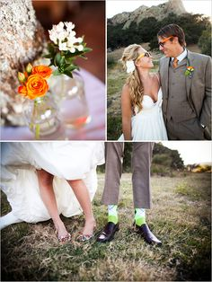 Groom suit/socks