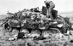 destroyed Jagdpanzer Hetzer