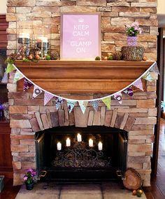 fireplace stone