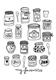 Jars and Jam ~ My Favorites