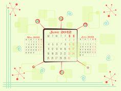 June 2012 Wallpaper Calendar