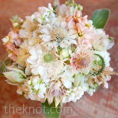 light pink wedding bouquet! love!