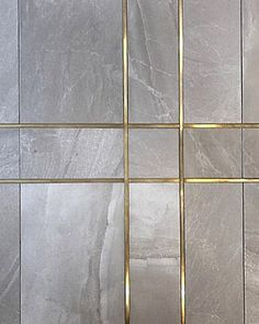 The Geostone series is available in 5 neutral tones with multiple face variances. The soft subtle movement in its veining gives the series… Wall Panel Design, Wall Tiles Design, Floor Design, Gold Trim Walls, Leather Wall Panels, Hallway Inspiration, Bedroom Closet Design, Cupboard Design, Lobby Design
