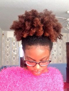 Natural hair glory. - Check out my post on if natural hair is worth it...