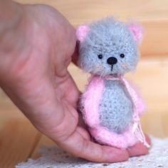 3.5 inches teddy bear