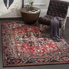 Safavieh Vintage Hamadan Red / Multi Area Rug (10'6 x 14') - Free Shipping Today - Overstock.com - 20790763 - Mobile