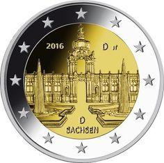 Duitsland 2 Euro 2016 Dresdner Zwinger Sachsen