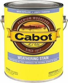 Cabot 1G 6244 Silver Gray Weathering Stain 250 VOC