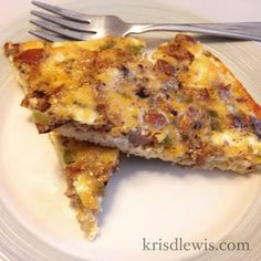 Cheese Sausage Quiche