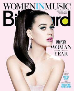 Katy es la tapa de la revista Billboard de Diciembre, edición Especial 'Mujer del Año'