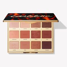 My next eyeshadow palette. Tartelette toasted eyeshadow palette from Tarte