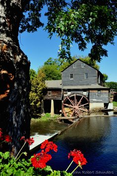The Old Mill - We love how it's decorated differently with every season.