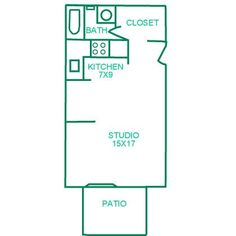Typical Studio Apartment Floor Plan Ft Studio Apartment