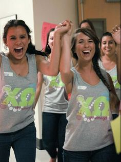 chi o girls love pearls!- like the heather grey and lime green