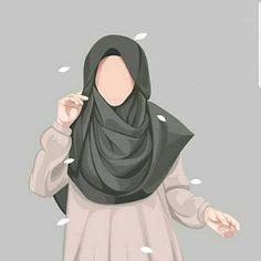 Anime Muslim, Muslim Hijab, Hijabi Girl, Girl Hijab, Muslim Girls, Muslim Women, Girl Cartoon, Cartoon Art, Cover Wattpad