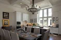 VT Interiors - Library of Inspirational Images: COSY KITCHEN AND DINING SPACES