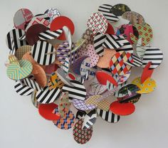 Guillermo Aguilar-Huerta, Heart, 2014. #Love #LoveArt #ValentinesCollection #Heart Art Projects, Projects To Try, Project Ideas, Valentine Special, Valentines, Wow Art, Love, 4th Of July Wreath, Sculpture