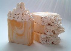 Mimosa Cold Process Soap www.cleverlilfox.com